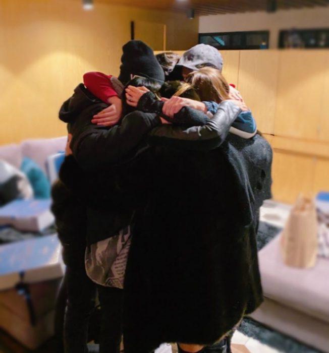 RBD reunidos en un abrazo