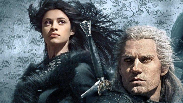 Yennefer de Vengerberg y Geralt de Rivia en The Witcher