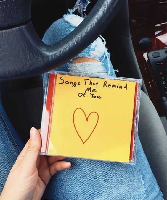 CD con canciones personalizadas