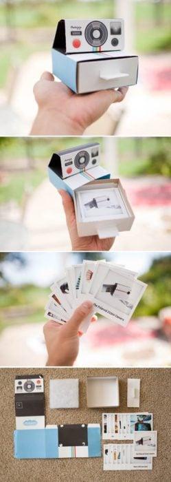 Caja de recuerdos de fotografía