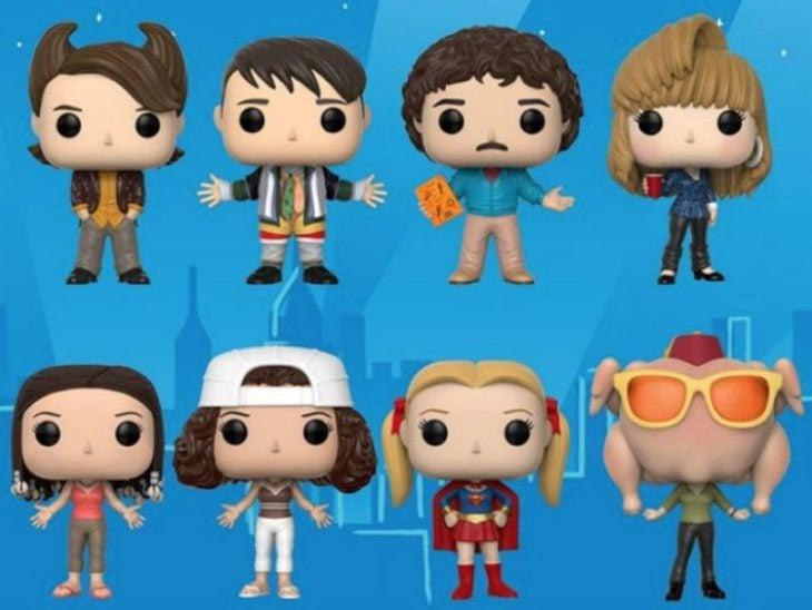 Muñecos Funko de la serie Friends