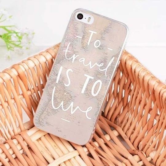 Case para celular con diseños de viaje