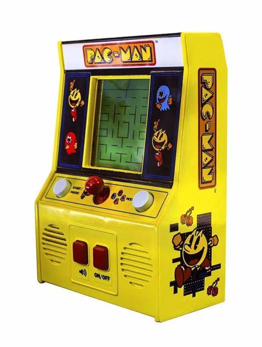 Pequeña maquina de videojuegos arcade de Pacman
