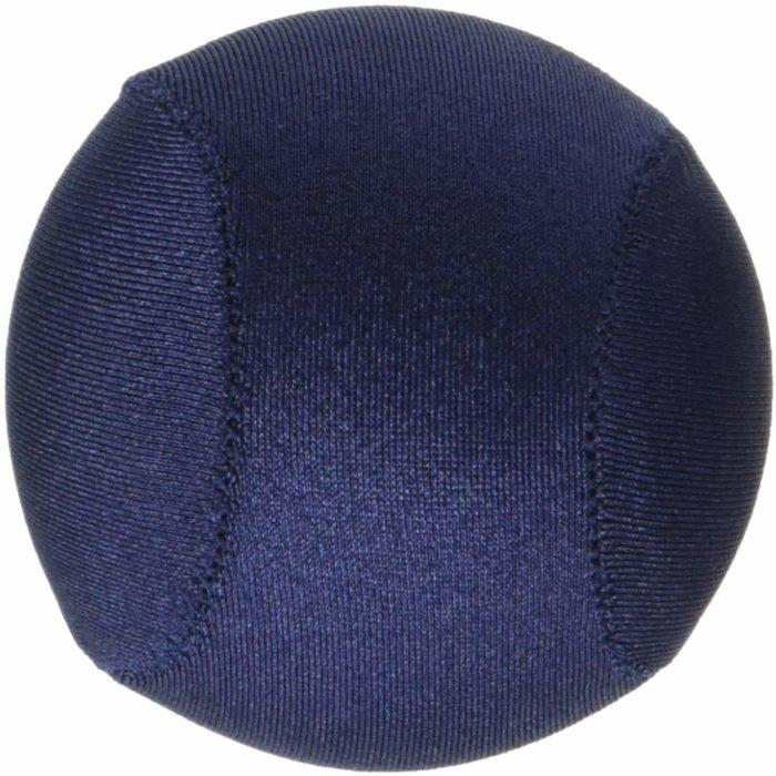 Pelota antiestrés de color azul para relajarte