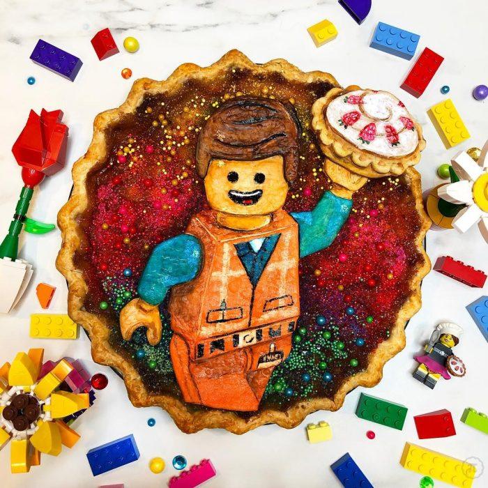 Pay creado por Jessica Leigh Clark-Bojin inspirado en Lego