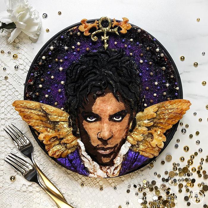 Pay creado por Jessica Leigh Clark-Bojin inspirado en Prince