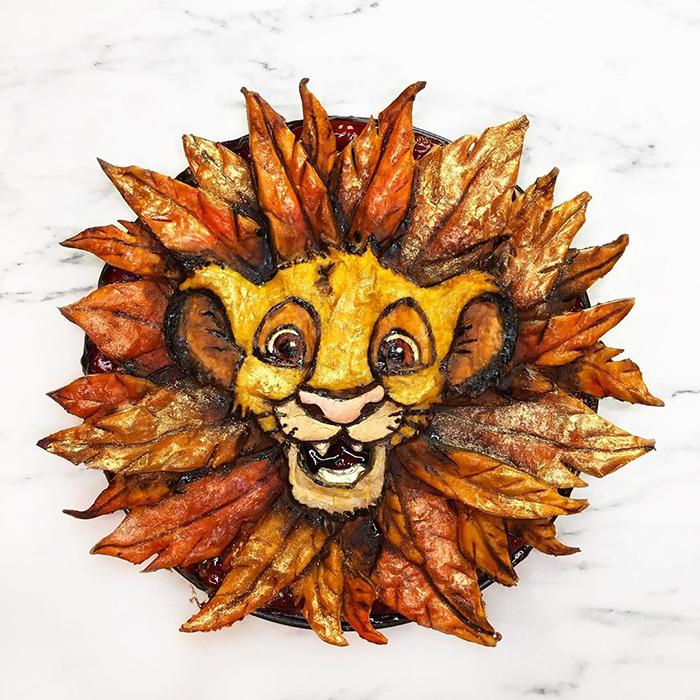 Pay creado por Jessica Leigh Clark-Bojin inspirado en Simba