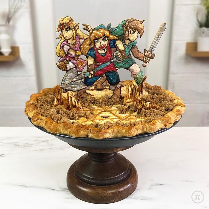 Pay creado por Jessica Leigh Clark-Bojin inspirado en La leyenda de Zelda