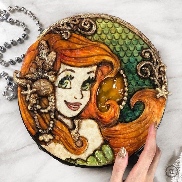 Pay creado por Jessica Leigh Clark-Bojin inspirado en Ariel