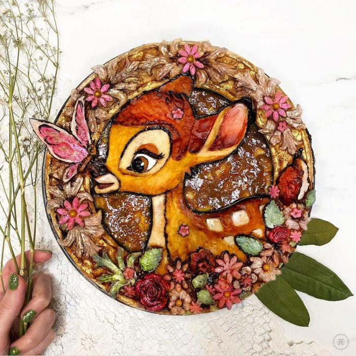 Pay creado por Jessica Leigh Clark-Bojin inspirado en Bambi