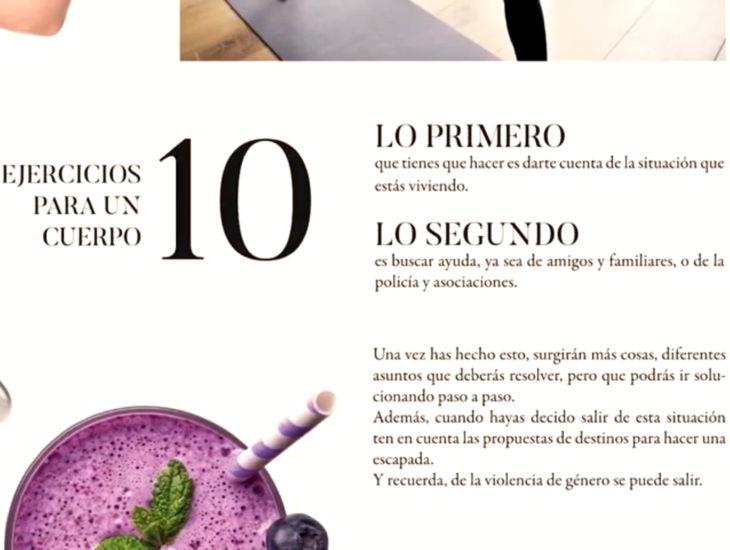 Falsa revista de moda española, Artemis que ayuda a mujeres en peligro
