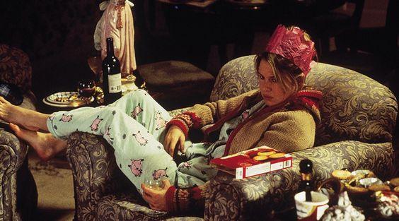 Escena de la película El diario de Bridget Jones