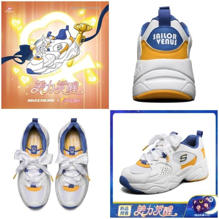 Skechsers inspirados en Sailor Venus