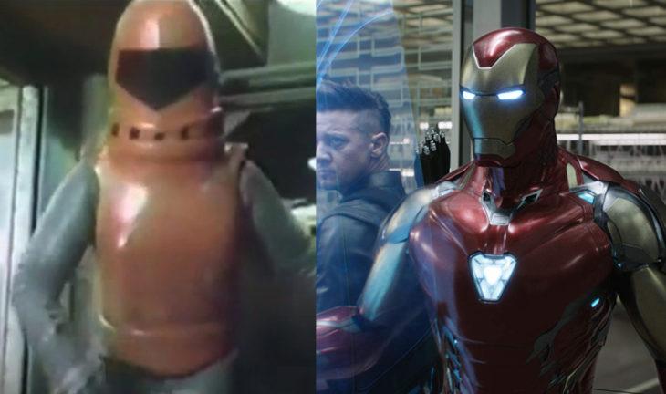 Ironman antes y después de su primera aparición en la telvisión vs el cine