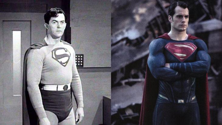 Superman n su primera aparición en televisión vs en cine