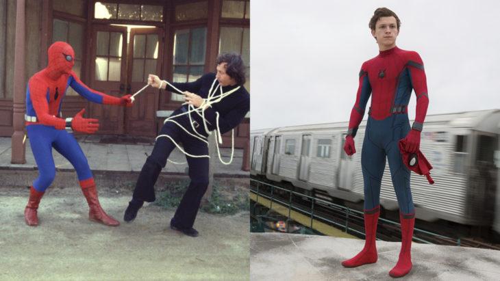Spiderman su primera aparición en televisión vs en cine