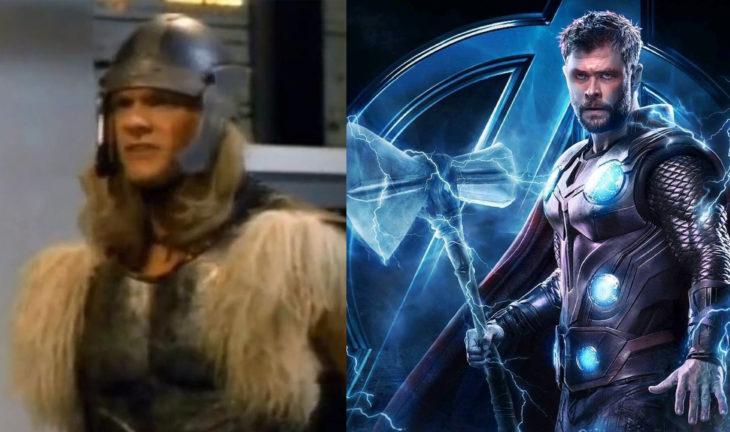 Thor en su primera aparición en televisión vs en cine