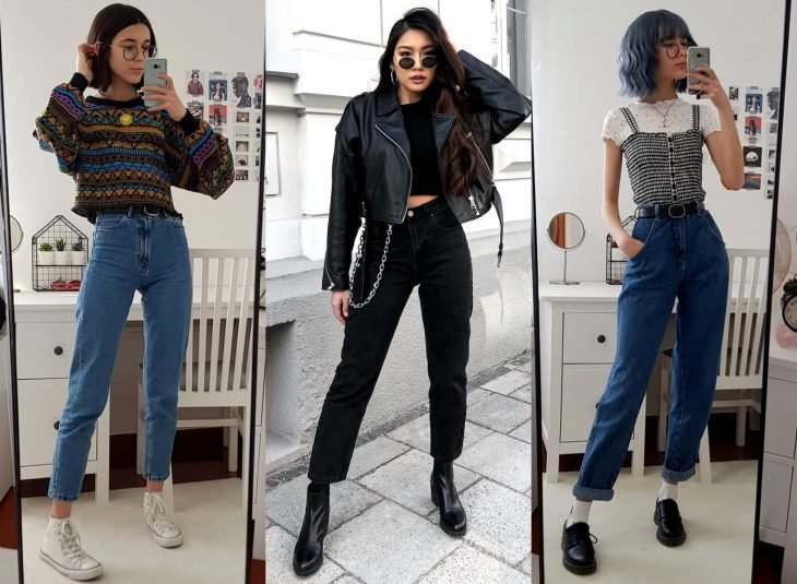 Tipos de pantalones para mujer; bootcut jeans