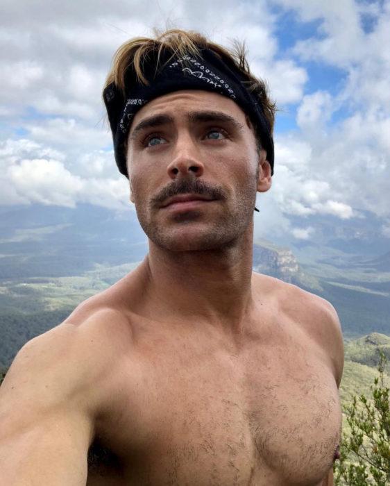 Zac Efron enfermó en Nueva Guinea al grabar un documental
