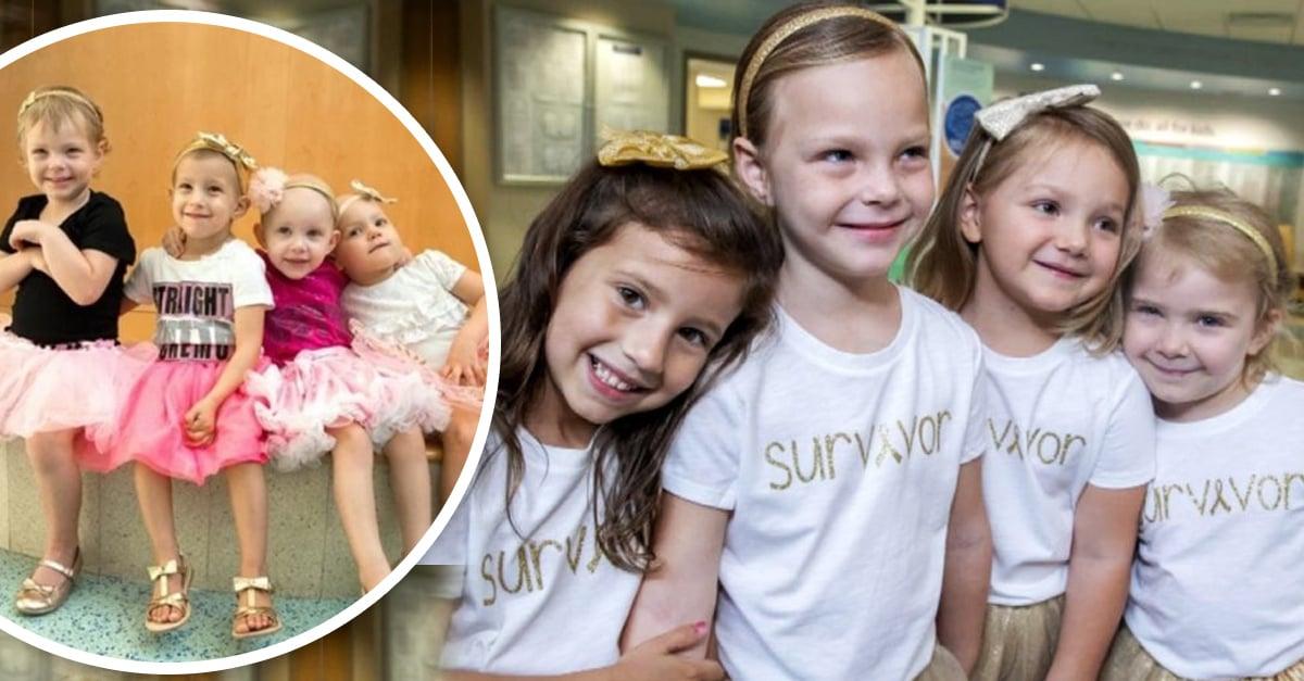Niñas se hacen amigas en el hospital y años después celebran que están sanas