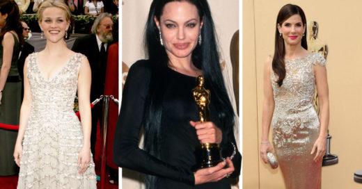 15 Famosas que se veían espectaculares al recibir su primer Óscar