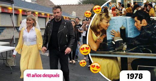John Travolta y Olivia Newton-John vuelven a encontrarse después de 41 años