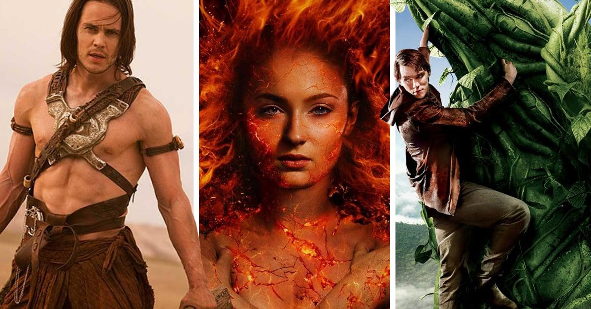 10 Películas que no alcanzaron el éxito en la última década