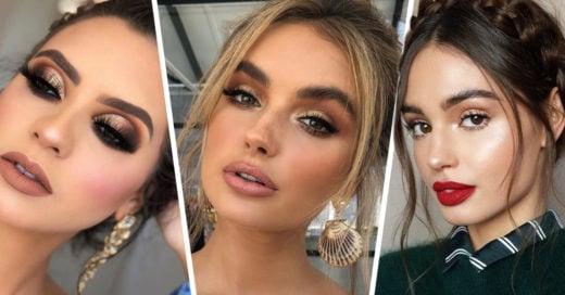 13 Maquillajes para ser la reina de la fiesta de Año Nuevo