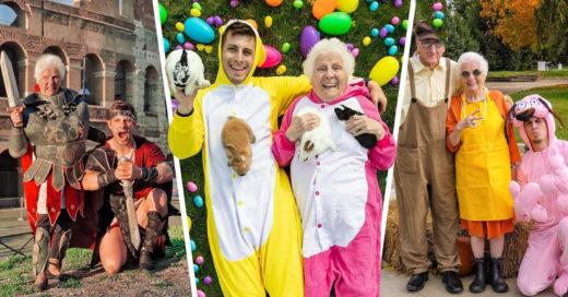 Abuelita y nieto crean los mejores coplaysde internet y es imposible no reír