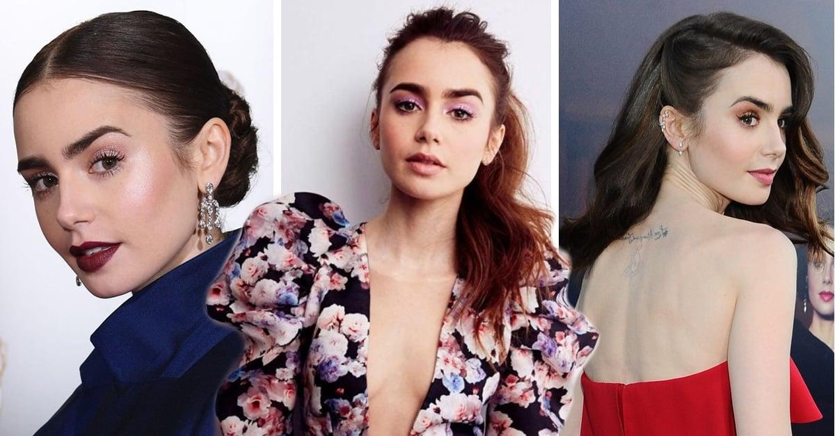 23 Peinados para despedir el 2019 al estilo de Lily Collins