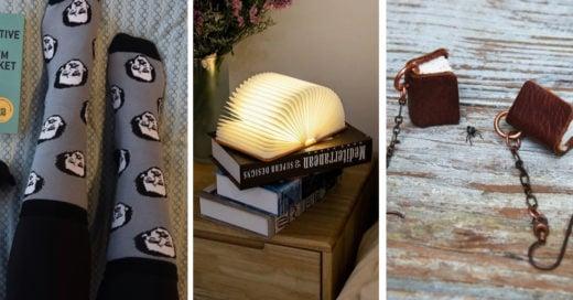 20 Bonitos regalos para hacer feliz a cualquier amante de los libros