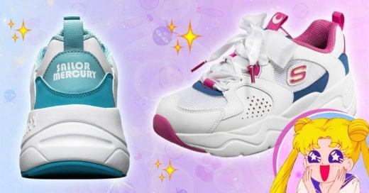Skechers lanza una línea deportiva inspirada en Sailor Moon ¡y queremos todo!