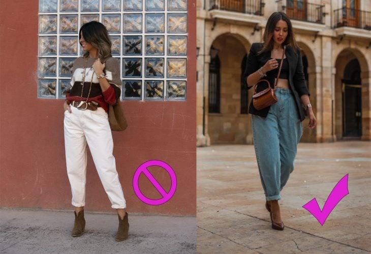 Formas adecuadas de usar unos jeans Crunchy