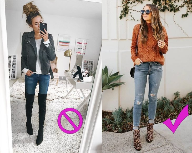 Formas adecuadas de usar unos jeans skinny