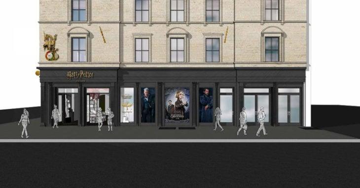 Plano tienda inspirada en Harry Potter en Nueva York