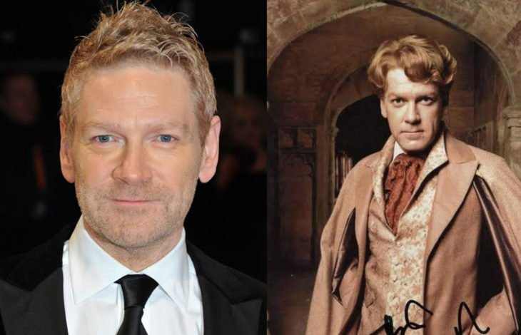 Kenneth Branagh en su papel de profesor de Harry Potter