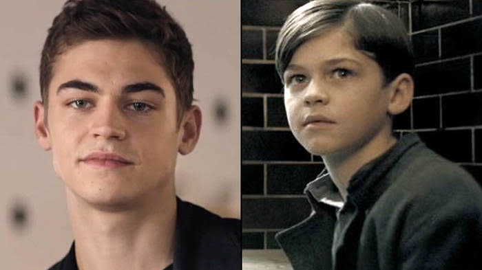 Hero Fiennes-Tiffin interpretando a tom riddle de niño