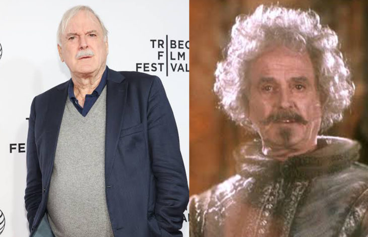 John Cleese en su papel de sir nicolas casi decapitado de Harry Potter