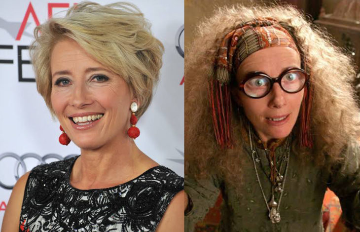 Emma Thompson en su papel en Harry Potter