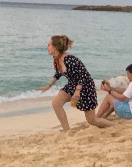 Adele y Harry Styles de vacaciones juntos en la playa
