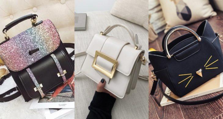 Bolsos de diversos colores para mujer