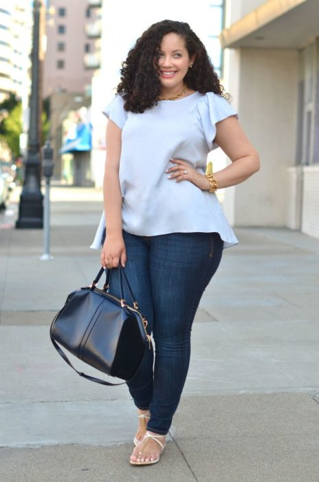 Outfit para chica curvy