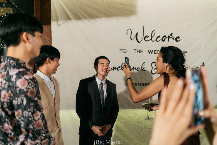 Tunchanok Boonkacha, una novia tailandesa invita a sus exnovios a su boda con su actual pareja