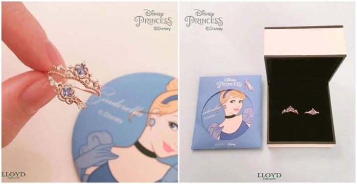 Anillo de colección inspirado en Cenicienta, Disney