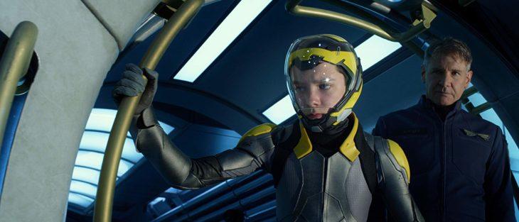 Asa Butterfield como Ender en la película El juego de Ender