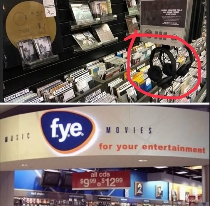auriculare sgratuitos en tienda comercial