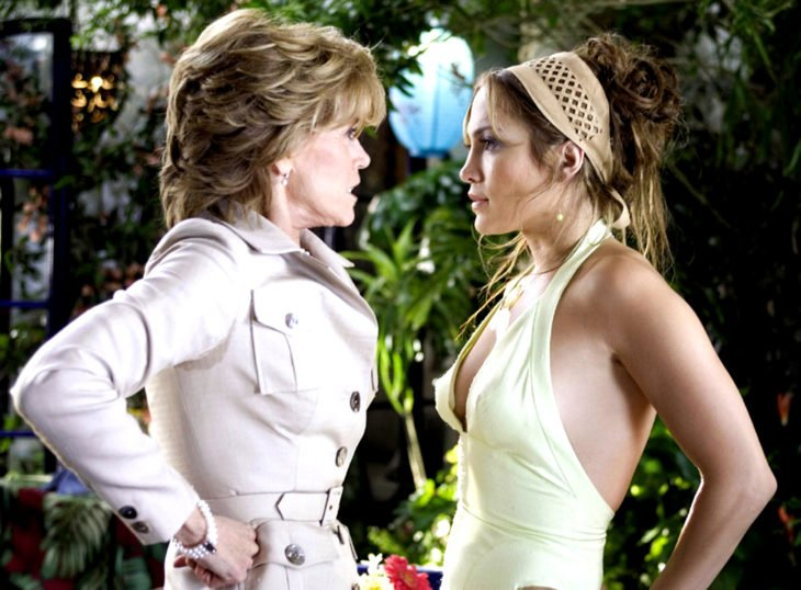 Las cuñadas son más tóxicas que las suegras; Monster in law, Jane Fonda, Jennifer Lopez, Viola Fields y Charlote