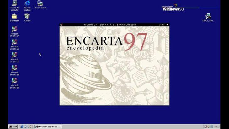 Enciclopedia encarta de 1997