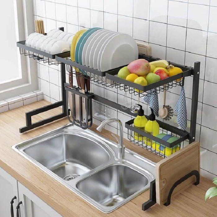 Escurridor de platos con diseño más práctico y bonito