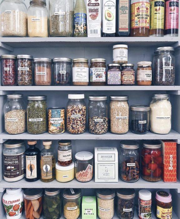 Especieros hechos con envases reusados